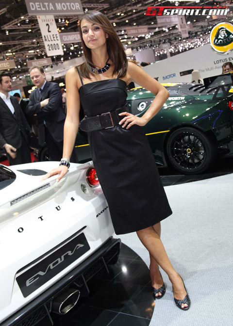 Geneva Motor Show Girls Day 2
