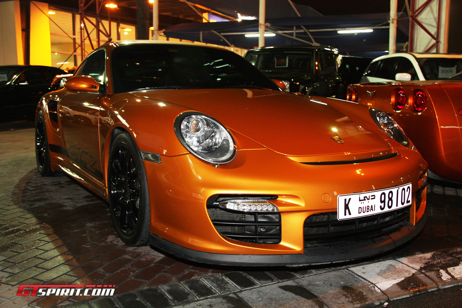 This 997 GT2 is currently for