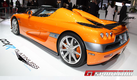 Koenigsegg CCXR Platinuss E100