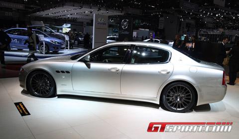 Geneva 2010 Maserati Quattroporte Gt S Awards Edition Gtspirit