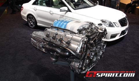 Mercedes-Benz AMG 5.5 liter V8 Engine