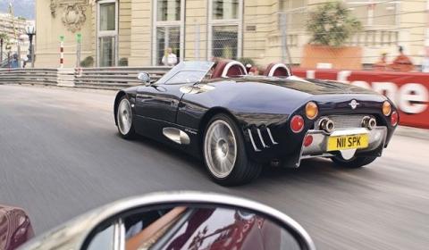 Monaco F1 VIP Experience Including Spyker C8 Aileron Spyder