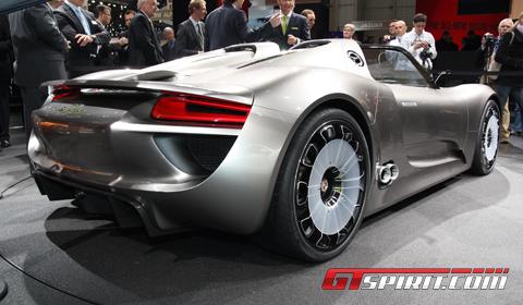 Porsche 918. Porsche 918 Spyder Live