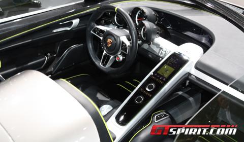 Porsche 918 Spyder Live