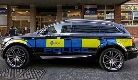 Scottish Police ABT AS7 TDI Patrol Car