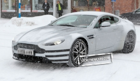 Spyshots 2011 Aston Martin V8 Vantage Facelift