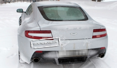 Spyshots 2011 Aston Martin V8 Vantage Facelift 01