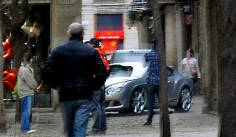 Spyshots 2011 Bentley Continental GT Facelift