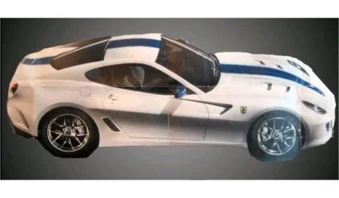 Spyshots First Official Shot Ferrari 599 GTO