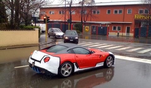 Spyshots More Information Ferrari 599 GTO 01
