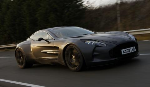 Video Aston Martin One-77 Testing