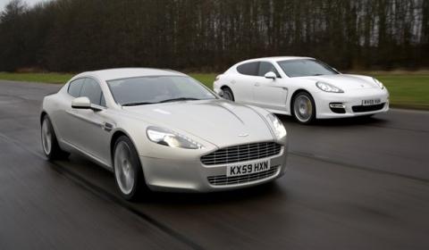 Video Of The Day Aston Martin Rapide Vs Porsche Panamera Gtspirit