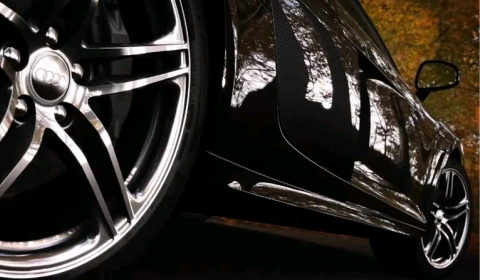 Video Audi R8 V10 Rendering Sequence