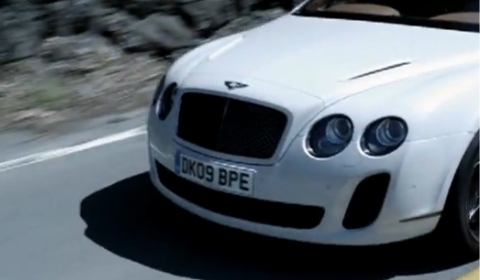 Video Bentley Continental Supersports Convertible