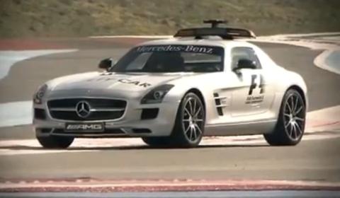 Video Mercedes SLS AMG F1 Safety Car