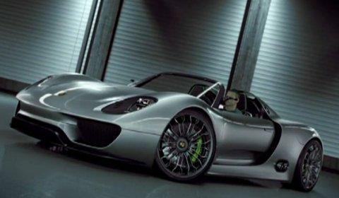 Video Porsche 918 Spyder Concept
