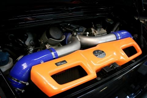 9ff DR700 Engine Bay