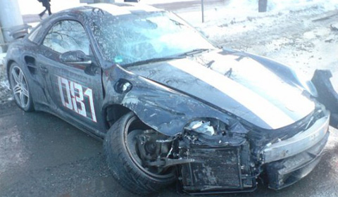 Car Crash - Siberian Porsche Turbo