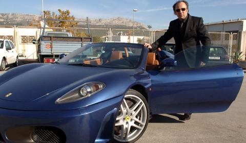 Car Crashes Nephew Mayor of Split Crashes F430 Spyder 03