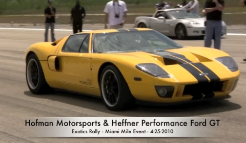 Heffner Twin Turbo Ford GT Standing Mile 266.90mph