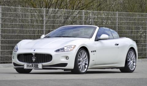 Maserati GranCabrio Progam by H&R