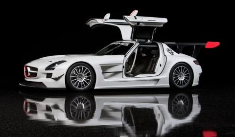 Mercedes SLS GT3 Racer Hints SLS AMG Black Series