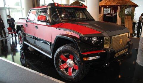 Monaco 2010 Dartz T68 Kombat Monaco Red Diamond Edition