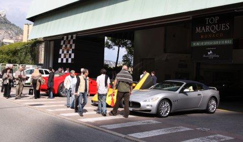 Monaco 2010 Test Drive Pit