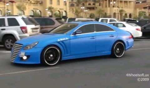 Overkill Matte Blue ASMA CLS55 AMG
