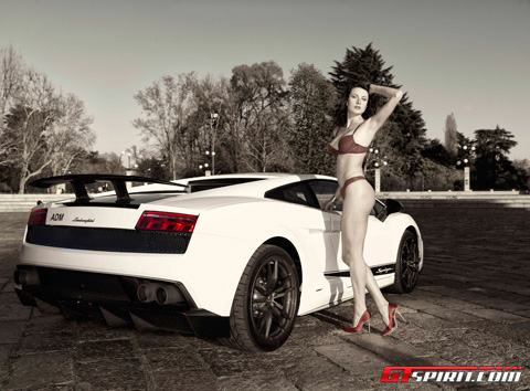 Lamborghini LP570-4 Superleggera & Evgeniya Shcherbakova