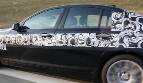Spyshots BMW F10 M5 on Autobahn Near Munich 02