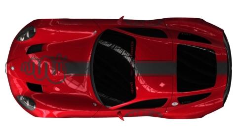 Teased Zagato Alfa Romeo TZ3 Corsa