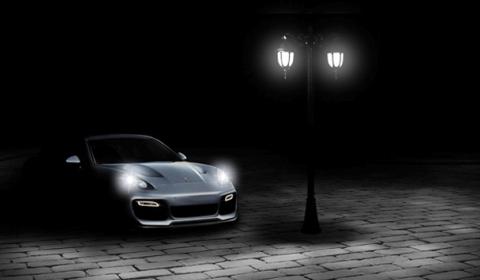 Teaser Vorsteiner Porsche Panamera Bodykit