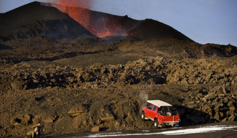 Top Gear Caught Filming on Active Volcano