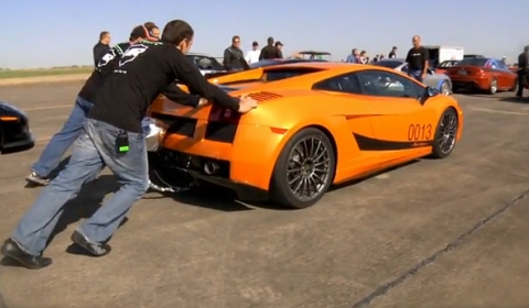 Underground Racing 250 MPH Twin-Turbo Lamborghini at the Texas Mile