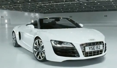 Video Audi R8 V10 Spyder Commercial