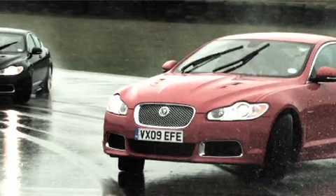 Video Drifting in the Jaguar XFR