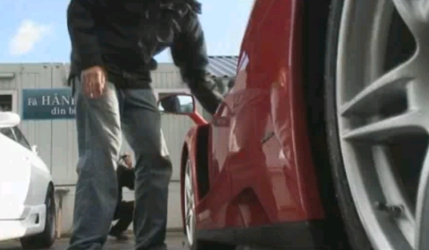 Video How Not To Wash a Ferrari Enzo