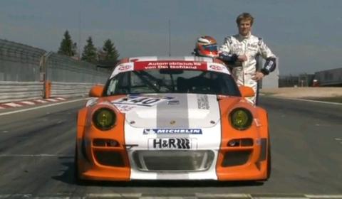 Video Porsche 911 GT3 R Hybrid Makes Nordschleife Debut