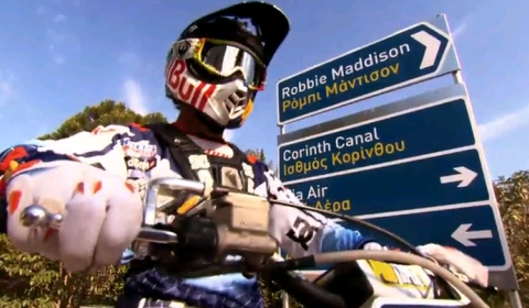 Video Robbie Maddison Jumps Corinth Canal