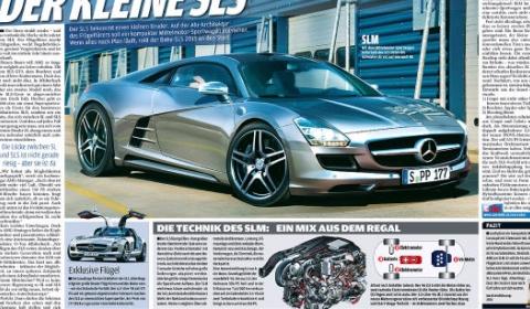 2013 Baby SLS AMG is Hybrid