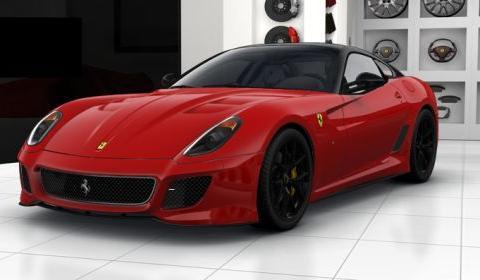 Ferrari 599 GTO Configurator