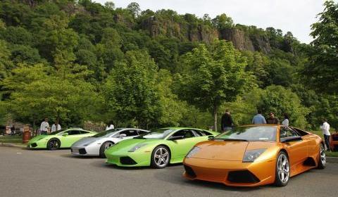 BullFest 2010 Lamborghini's