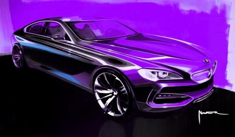 BMW Gran Coupe Drawing