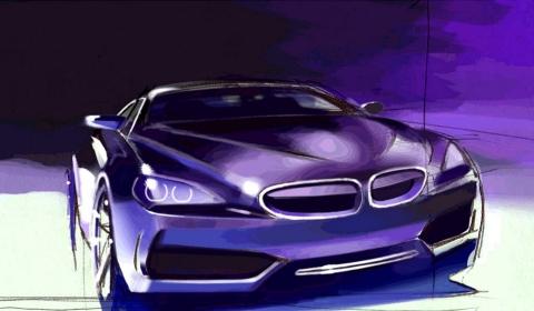 BMW Gran Coupe Drawing 01