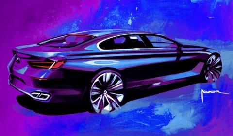 BMW Gran Coupe Drawing 02