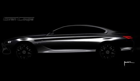 BMW Gran Coupe Drawing 03