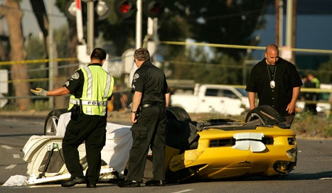 Car Crash Chevrolet Corvette Crash Takes Four Lives