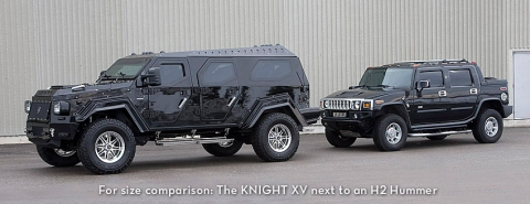 Conquest Knight XV - Fully Armoured Luxury SUV 01