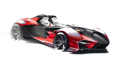 Designer Imagines Ducati Sports Car Concept - Go or No go?